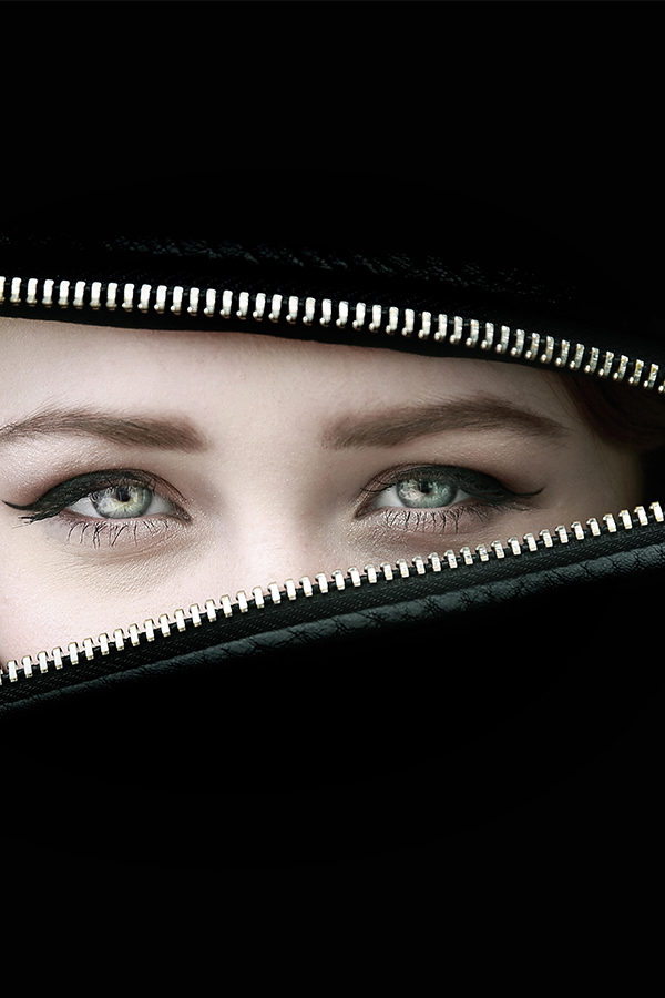 portret ogen Monique Hefti-Sutman fotografie